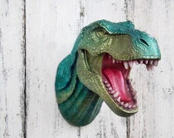 T-Rex Dinosaur Head~Jurassic~Dinosaur Wall Decor
