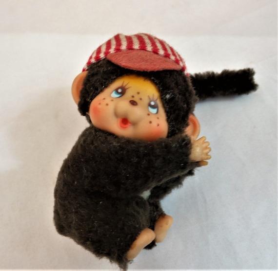 Monchhichi Toy Clipon Vintage Monkey