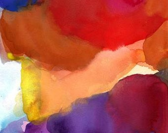 Art Print, Painting, Large, How I Remember