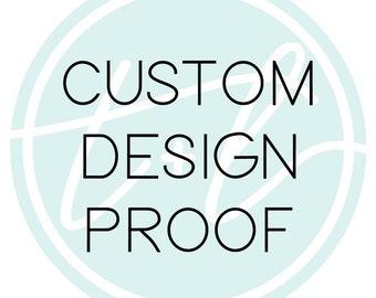 Custom Design Proof | Teal & Lavender