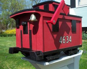 Caboose Mailbox
