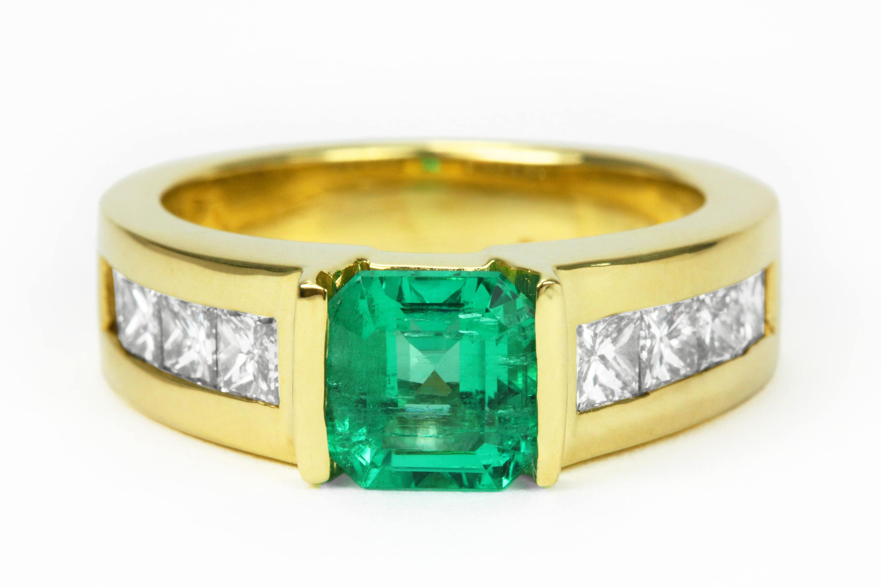 green anne mens ring fresh diamond sportun products rings gold emerald