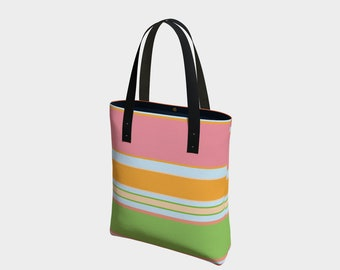 Summer Time Bag, Beach Bag, Tote Bag