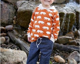 Rough N' Tumble Boys Pants Sewing Pattern / Girls Pants PDF Sewing Patterns / Elastic Waste Kids Pants Pattern / Toddler Pants  Patterns