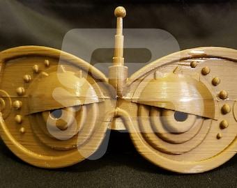 3D Printed Legend of Zelda Breath of the Wild Purah Goggles Kit