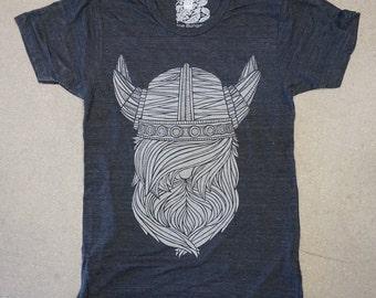 Viking T Shirt | Charcoal Black