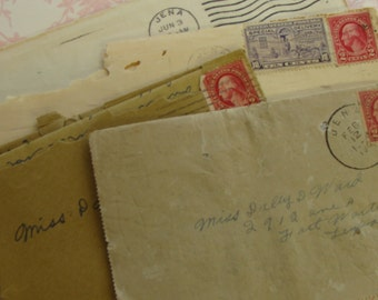 One Antique Love Letter from Rip to Miss Dolly