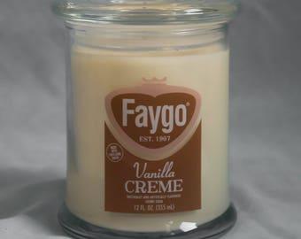 Faygo Vanilla Creme Candle