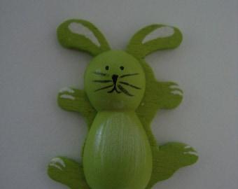 Rabbit green stick wood
