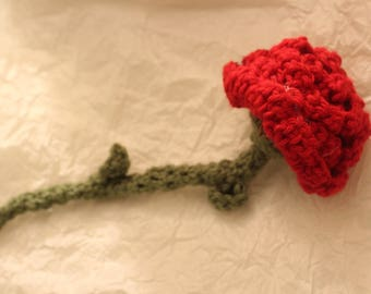 Handmade Crocheted Rose