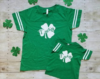 St. Patrick's Day - Mommy and Me - Women St. Patrick's Day Shirts - Shamrock Shirt - Irish Shirt - Kids St. Patrick's Day Shirt - St. Pattys