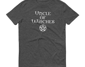 Uncle of Witches Cheeky Witch® T-Shirt