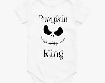 Nightmare before Christmas, Jack Skellington, Pumpkin King Onesie