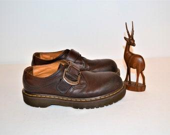 SALE.......Vintage Shoes Dr. Martens with Buckle