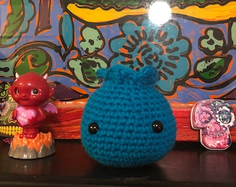 Crochet blue berry READY TO SHIP