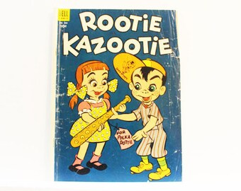 Rootie Kazootie, #502, 'For Polka Dottie', 1953, Dell Comics, Golden Age Comics