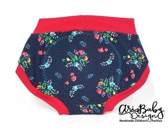 Cloth Pull Ups - Cloth Training Pants - Training Pants - Potty Training Pants - Training Scrundies - Training Underwear - Cloth Trainers