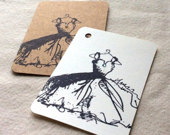 20 Wedding dress gift tags, wedding dress cards, escort cards, table numbers, wedding favors, bridesmaid gift, wedding card set