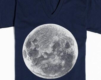 moon t shirt graphic tee for women women s shirt