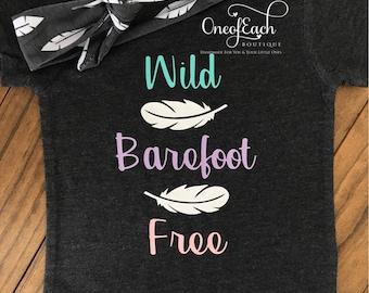 Wild Barefoot Free Bodysuit/Tee