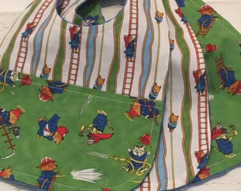 Trio of Ever Famous Richard Scarry Bibs!  FREE SHIPPING!!