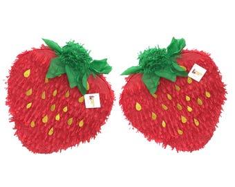 "Sale! Strawberry Pinata 20"" Sale Strawberry Theme Party Favor"