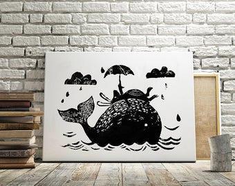 Original Art Print - Rainy Day!