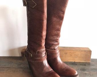 Ladies Frye Boots Size 7.5 Excellent Condition