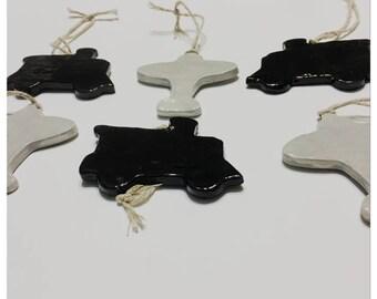 Handmade Ceramic Trains and Planes