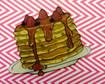 Pancake Breakfast Brooch