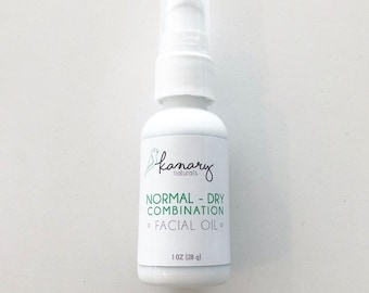 Facial Oil for Normal to Dry skin (Anti_age - Dry) - Damaged skin, Vegan, Moisturizers, Bath and Beauty Hand-poured Facial Oil