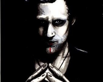 Eric Northman - Art inspired by True Blood - Print 4 x 6