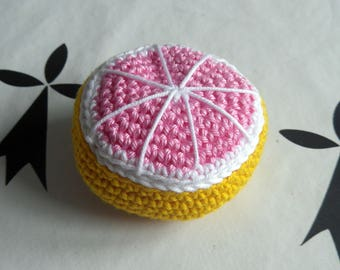 Grapefruit to play the Dinette crochet