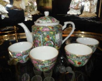 HONG KONG JAPANESE Ware Tea Set