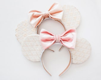 Its a Small World Mouse Ears / Minnie Mouse Ears / Mickey Ears / Minnie Ears / Disney Ears / Gold / Disney Gift / Gift for Her / Disneyland
