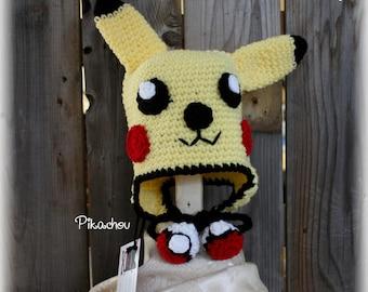 Pikachu inspired Beanie