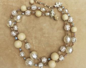 Elegant Vendome Double Strand Necklace