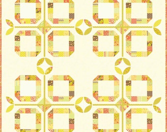 NEW Fig Tree Quilts Al Fresco Quilt Pattern  Layer Cake and Charm friendly quilt pattern