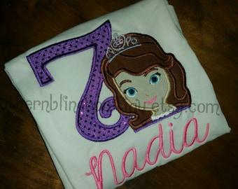 Princess Sofia Applique Shirt