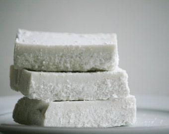 Lavender Mint Splash Sea Salt Soap - Lavender Soap - Essential Oil Soap