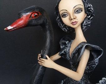 "Sale!!! OOAK Art doll ""Enchanted soul"" Handmade doll OOAK doll Art doll Collectible doll Interior doll"