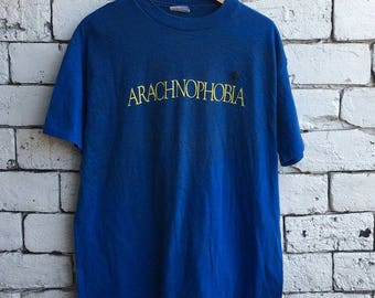 Vintage 90s Arachnophobia Movie T shirt