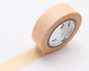 Peach Washi Tape • MT Masking Tape Pastel Washi Tape • Washi Tape UK • Japanese stationery • Pastel Orange