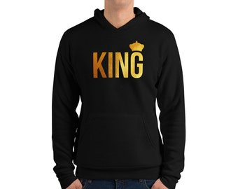 Awesome King Printed T-Shirt for Kings Prince Men