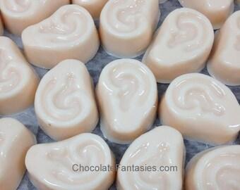 Mini Chocolate Ears - Audiology Chocolates 1 Pound Bulk Box