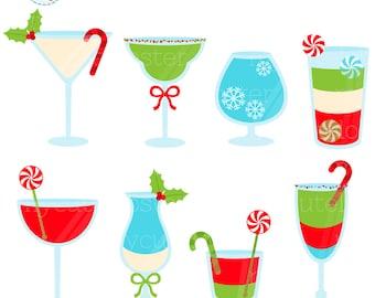 christmas cocktails etsy rh etsy com