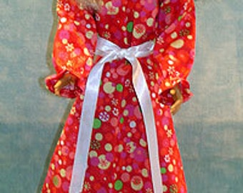 18 Inch Fashion Doll Clothes - Mango Mania Dress made by Jane Ellen to fit 18 inch fashion dolls