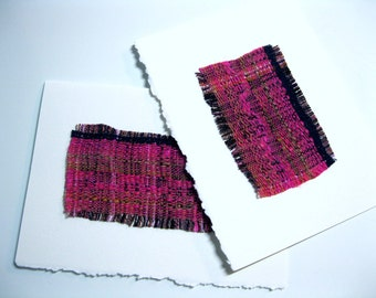 Handwoven Notecard