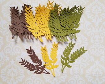 Die Cut Leaf Embellishments.  #WX-9