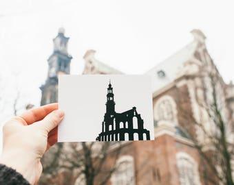 Postcard, Westerkerk (PA007)